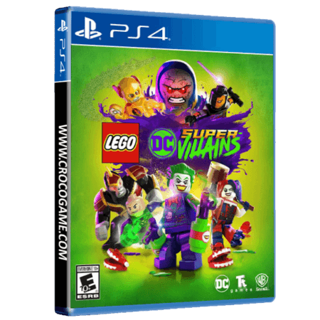خرید بازی Lego DC Super Villains برای PS4