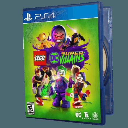 خرید بازی دست دوم و کارکرده Lego DC Super Villains برای PS4