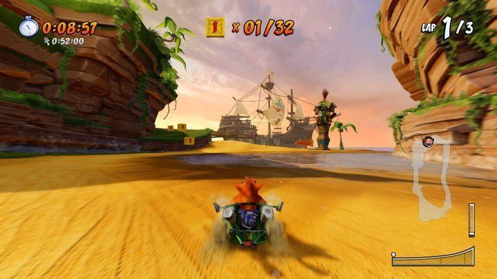 بازی Crash Team Racing Nitro