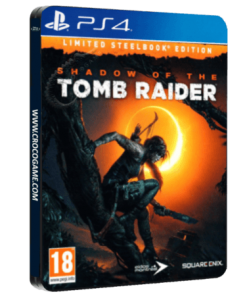 خرید بازی Shadow Of The Tomb Raider Limited Steelbook Edition برای PS4