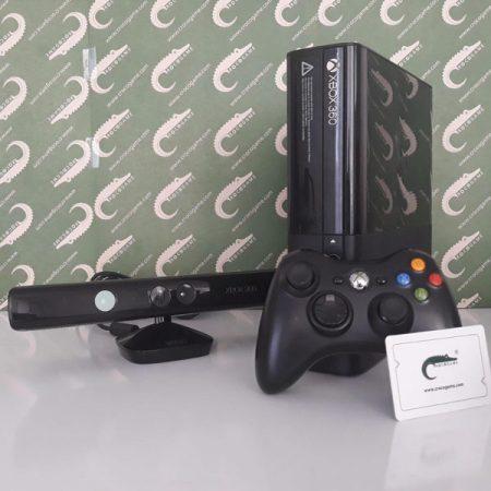 خرید ایکس باکس 360 کارکرده و دست دوم مدل سوپر اسلیم XBOX 360 SLIM E (جی تگ شده) همراه با کینکت