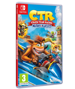 خرید بازی Crash Team Racing Nitro-Fueled برای Nintendo Switch