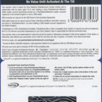 گیفت کارت 10 دلاری Playstation آمریکا - فیزیکی