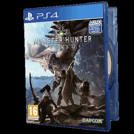خرید بازی دست دوم و کارکرده Monster Hunter World
