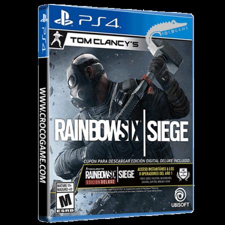 خرید بازی Tom Clancy's Rainbow Six Siege Deluxe Edition ریجن ALL