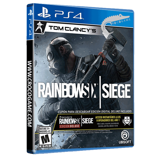خرید بازی Tom Clancy's Rainbow Six Siege Deluxe Edition ریجن ALL