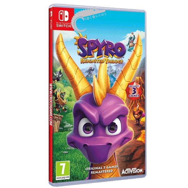 خرید بازی Spyro Reignited Trilogy برای Nintendo Switch
