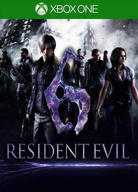 Resident-evil-6-نصب-بازی-ایکس-باکس-وان-آفلاین