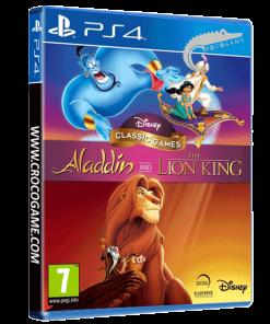 خرید بازی Aladdin and lion king برای ps4