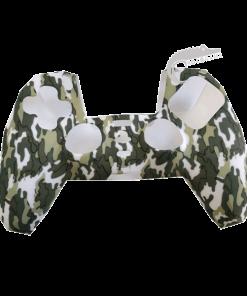 روکش-سیلیکونی-قاب-دسته-پلی-استیشن-5-کاور-دسته-PS5-Dualsense-مدل-ارتشی-جنگلی