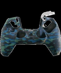 روکش سیلیکونی قاب دسته پلی استیشن 5 کاور دسته PS5 Dualsense مدل کماندو نیرو دریایی