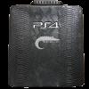 خرید کیف مشکی طرح دار Hard Case برای کنسول PS4 Slim..
