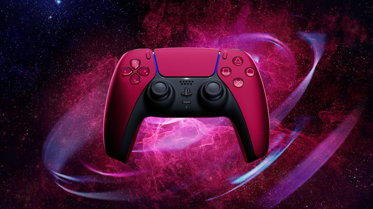 خرید دسته DualSense ps5 - رنگ Cosmic Red