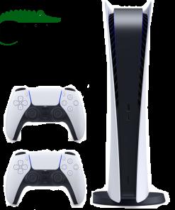 خرید کنسول پلی استیشن دیجیتال ۵ PS5 با دو دسته