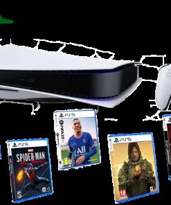 خرید کنسول پلی استیشن ۵ PS5 به همراه نصب بازی